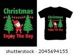 christmas typography vector t...   Shutterstock .eps vector #2045694155