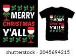 christmas typography vector t...   Shutterstock .eps vector #2045694215