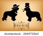 "Vector ""lady And Gentleman""..."