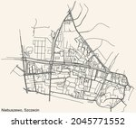 detailed navigation urban...   Shutterstock .eps vector #2045771552
