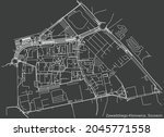 detailed negative navigation...   Shutterstock .eps vector #2045771558