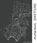 detailed negative navigation...   Shutterstock .eps vector #2045771582