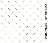 modern style repeating dot... | Shutterstock .eps vector #2045891855