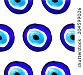 vector background of evil eye....