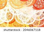 light orange vector blurred...   Shutterstock .eps vector #2046067118