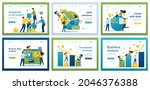 collection of landing pages....   Shutterstock .eps vector #2046376388