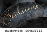 Black Stone Concept   Balance