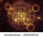 geometry of space series....   Shutterstock . vector #204640522