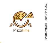 restaurant logo design for... | Shutterstock .eps vector #2046445652