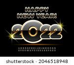 vector stylish greeting card... | Shutterstock .eps vector #2046518948