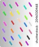 attractive colorful design ... | Shutterstock .eps vector #2046530468
