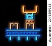 industry manufacturing neon... | Shutterstock .eps vector #2046559388