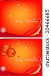 chistmas background   Shutterstock .eps vector #20466685