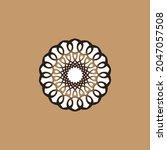 vector set of logo design... | Shutterstock .eps vector #2047057508