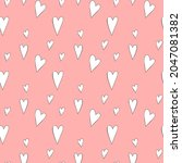 cute seamless pattern with... | Shutterstock .eps vector #2047081382