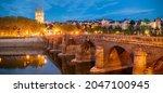 Verdun Bridge  Angers Cathedral ...
