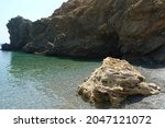 A Small  Secluded Beach In...