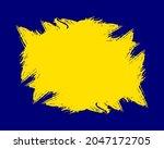 abstract yellow grunge texture...   Shutterstock .eps vector #2047172705