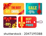 gift cards design with... | Shutterstock .eps vector #2047195388