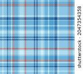 Winter Plaid Tartan Textile...