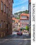 b dingen  germany august 25 ... | Shutterstock . vector #2047709765