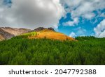 Panoramic Mountain Landscape...