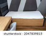 A Bed In A Modern Boy Room In...