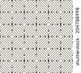 vector seamless pattern. modern ... | Shutterstock .eps vector #204788998