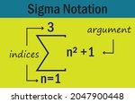 Sigma Summation Notation In...