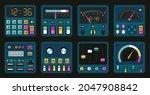 control panels. retro pc and...