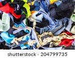 Background Pile Of Scrap...