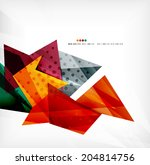 3d futuristic shapes vector...