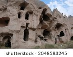 Volcanic Rock Formations In...