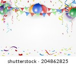 festival and holiday background | Shutterstock .eps vector #204862825