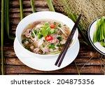 traditional vietnamese beef... | Shutterstock . vector #204875356
