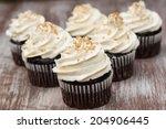 Chocolate Cupcakes With Vanilla ...