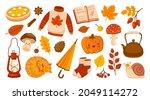 set of autumn vector...   Shutterstock .eps vector #2049114272