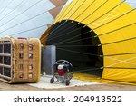 hot air balloon | Shutterstock . vector #204913522