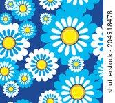 seamless floral pattern | Shutterstock . vector #204918478