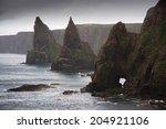 north coast of scotland  john o'... | Shutterstock . vector #204921106