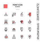 various point color icon... | Shutterstock .eps vector #2049214472