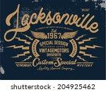 t shirt graphic | Shutterstock .eps vector #204925462