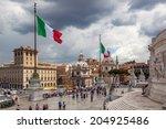 rome   june 30  in front of...   Shutterstock . vector #204925486