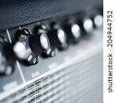 Volume Button Guitar Amplifier...