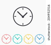 clock icon   vector...