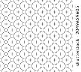 black and white surface pattern ...   Shutterstock .eps vector #2049639605