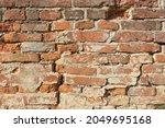 Brick Wall Pattern. Old Wall...