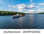 Svir River  Leningrad Region ...