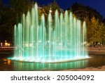 Fountain At Town Square In ...