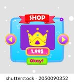 game ui shop crown price popup...
